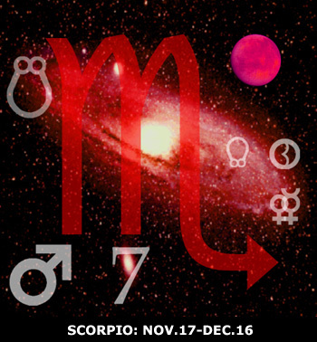 Sidereal Scorpio: Nov 17 - Dec 16.