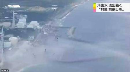 The sea around Fukushima appears to be boiling. The ocean temps are definitely rising and the radiation spreads wide.