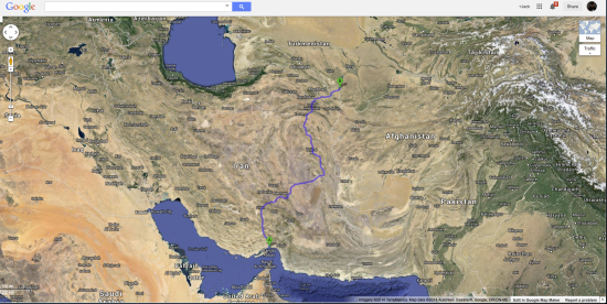 AM47 Overland through IRAN